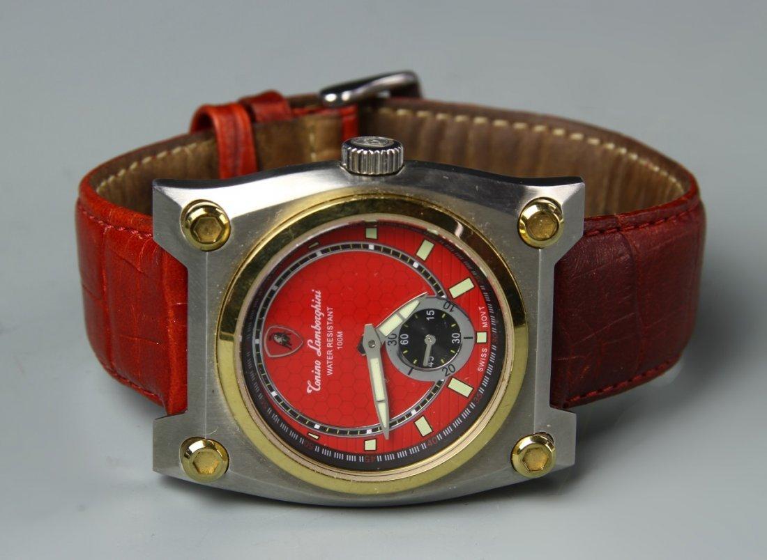 Wrist Watch Marked Lambroghini