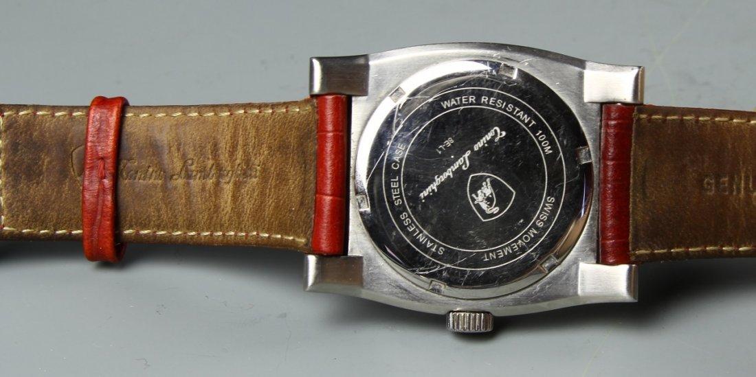 Wrist Watch Marked Lambroghini - 4