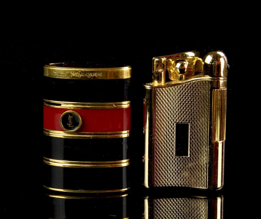 Yves Saint Laurent lighter and Cowoa Lighter