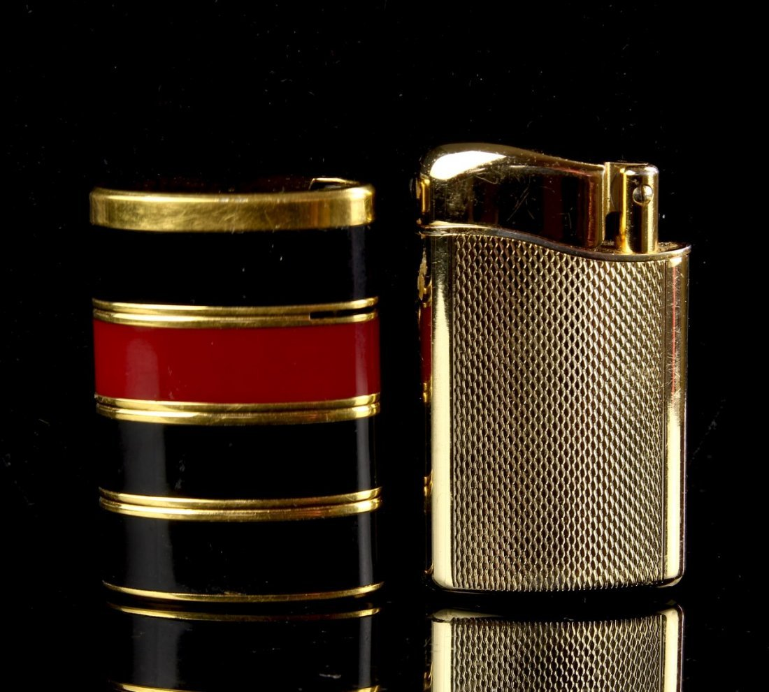 Yves Saint Laurent lighter and Cowoa Lighter - 2