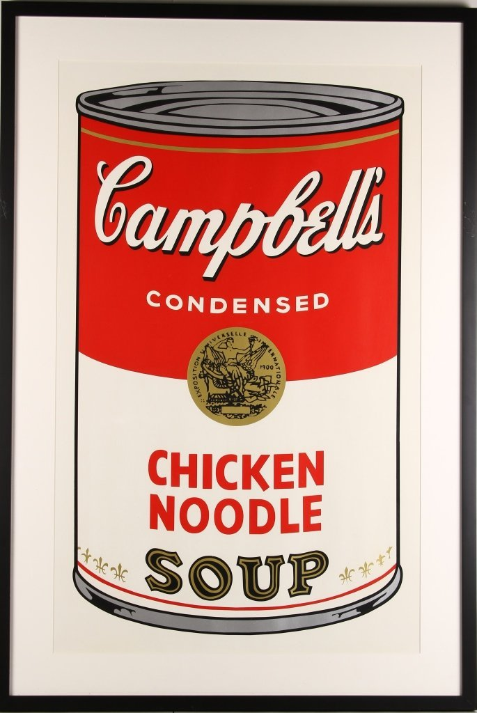Print Poster Campbell's Soup