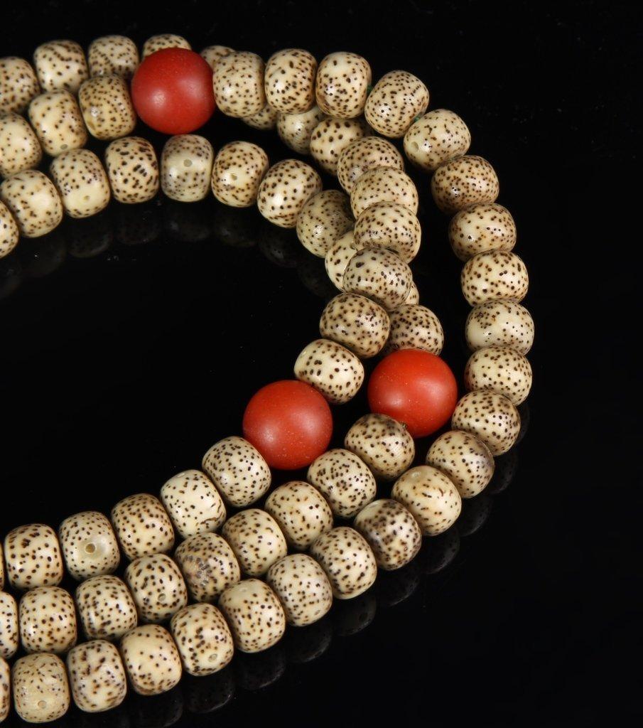 Chinese Tibetan Puti Seed Prayer Beads - 2