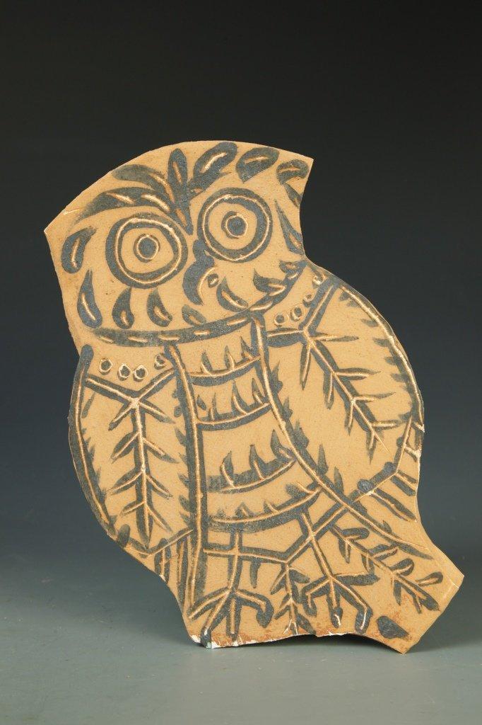 Pottery Owl