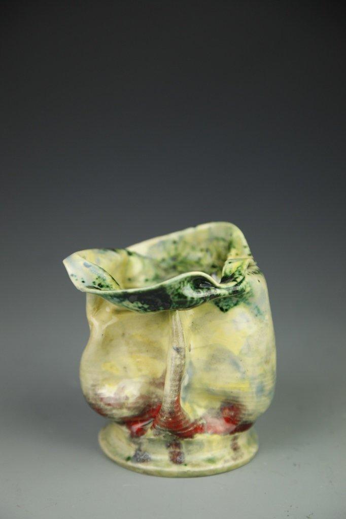 George Ohr Ceramic Vase