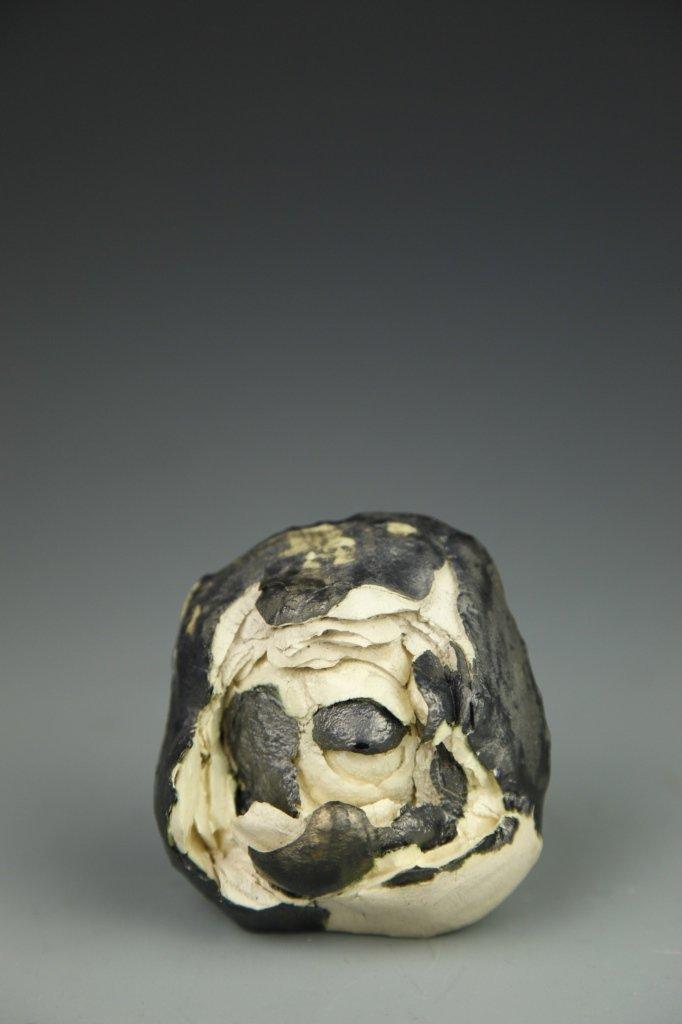 Lucio Fontana Ceramic Sculpture - 3
