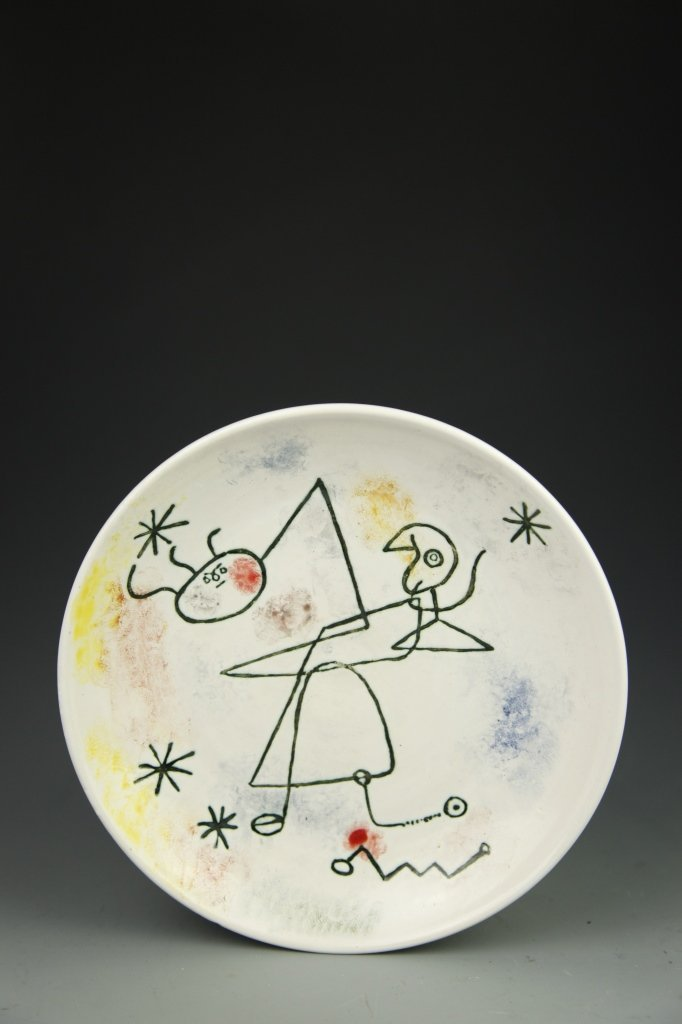 Miro Ceramic Plate