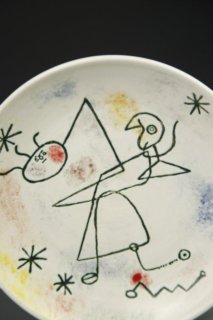 Miro Ceramic Plate - 4