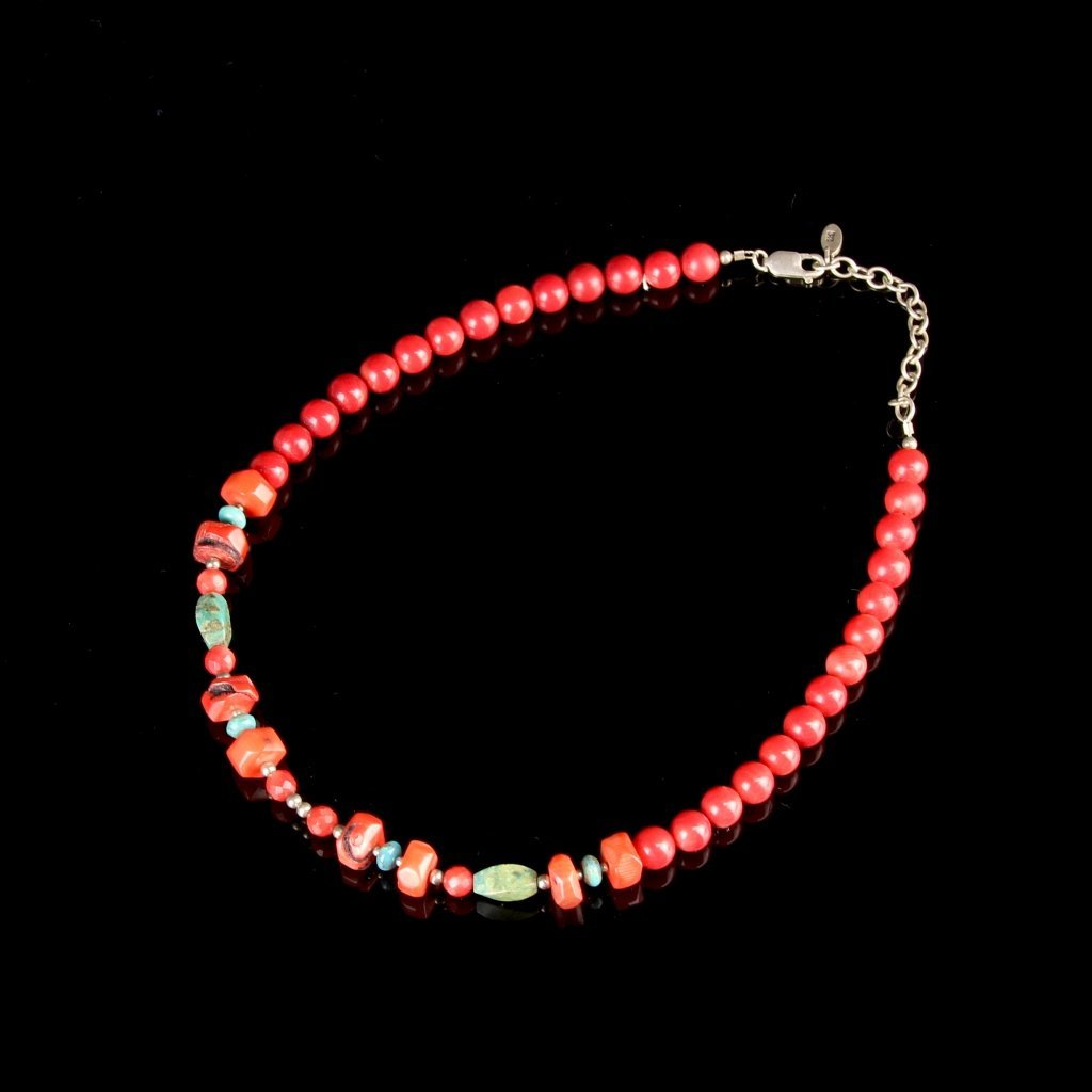 Chinese Tibetan Vintage Coral Necklace