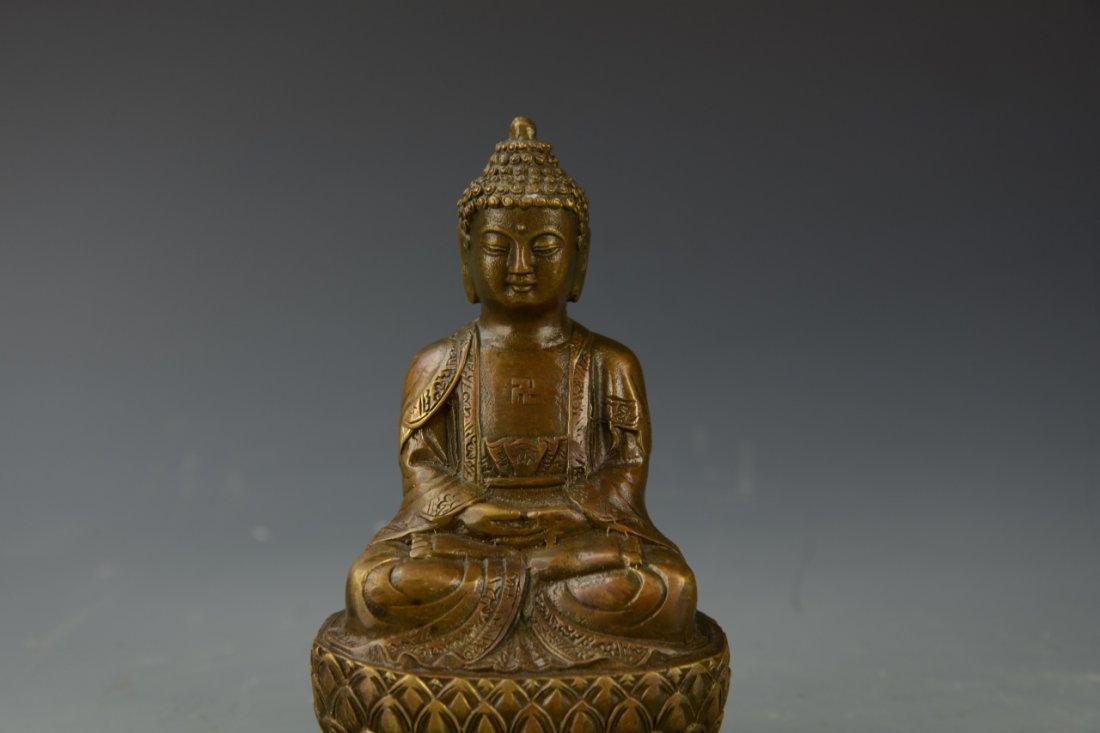 Chinese Bronze Buddha - 2