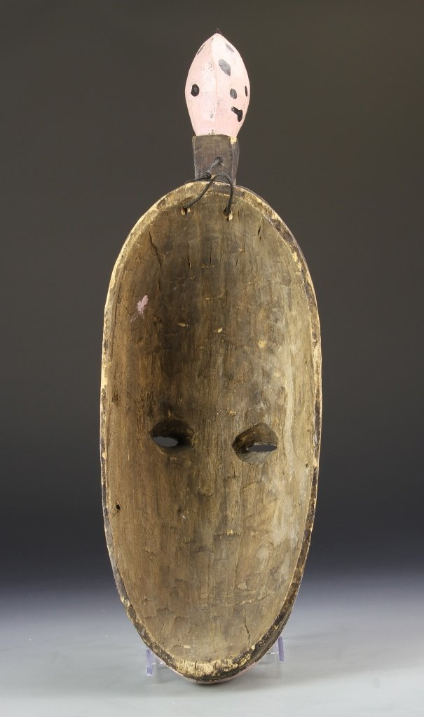 African Carved and Painted Mask - 2