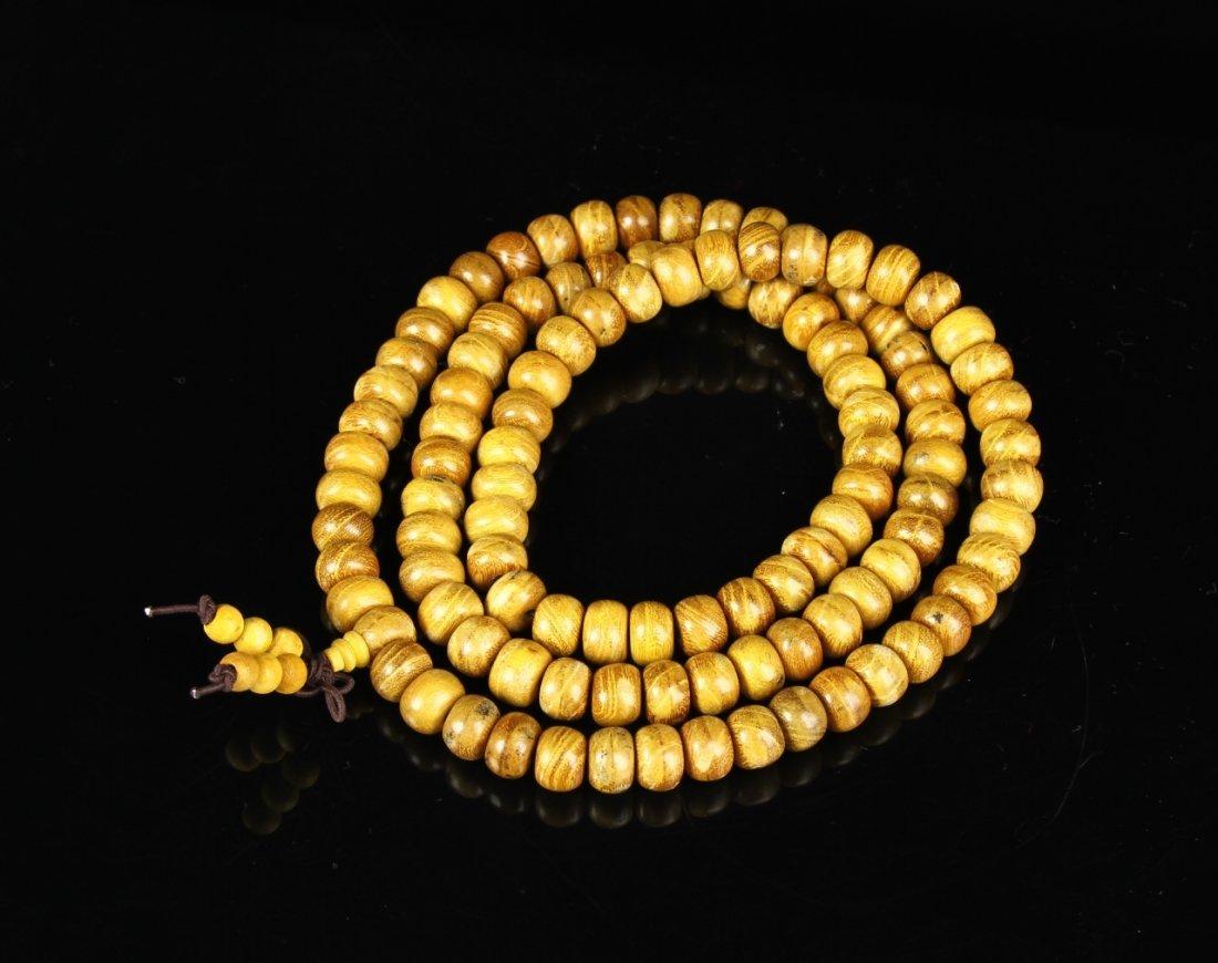 Chinese Hardwood Prayer Beads