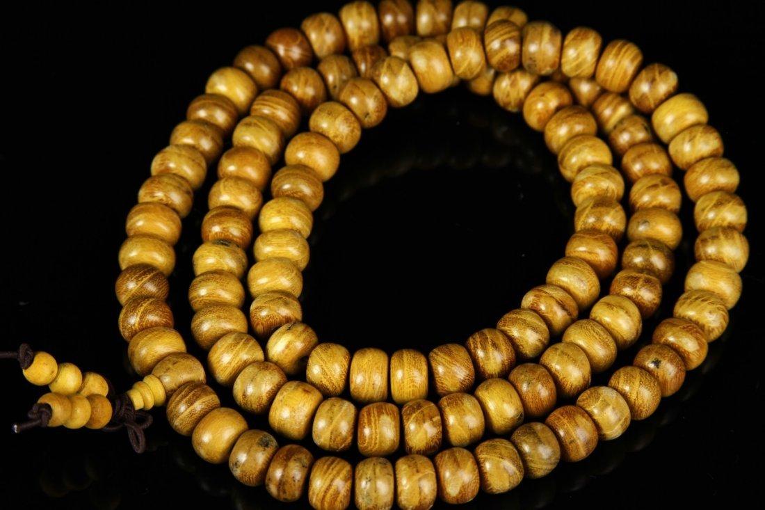 Chinese Hardwood Prayer Beads - 2