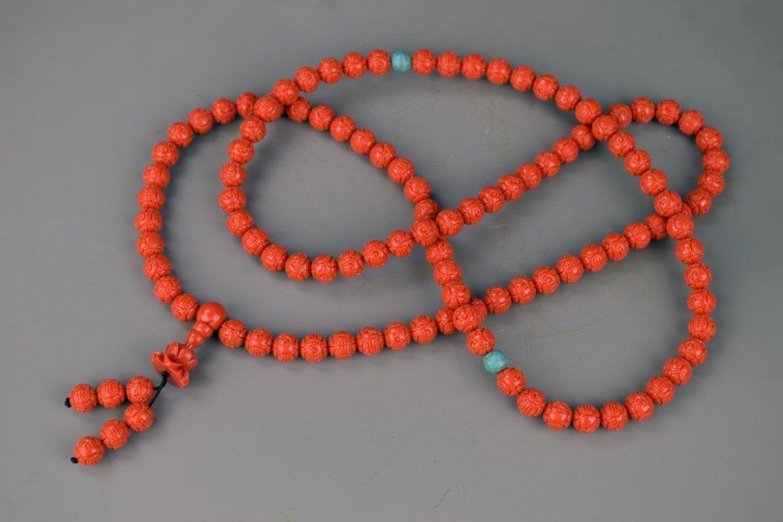 Chinese Tibetan Prayer's Beads