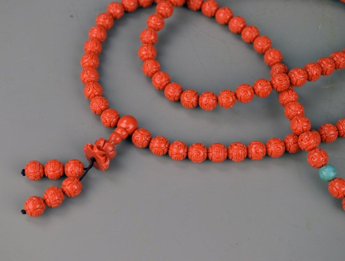 Chinese Tibetan Prayer's Beads - 2