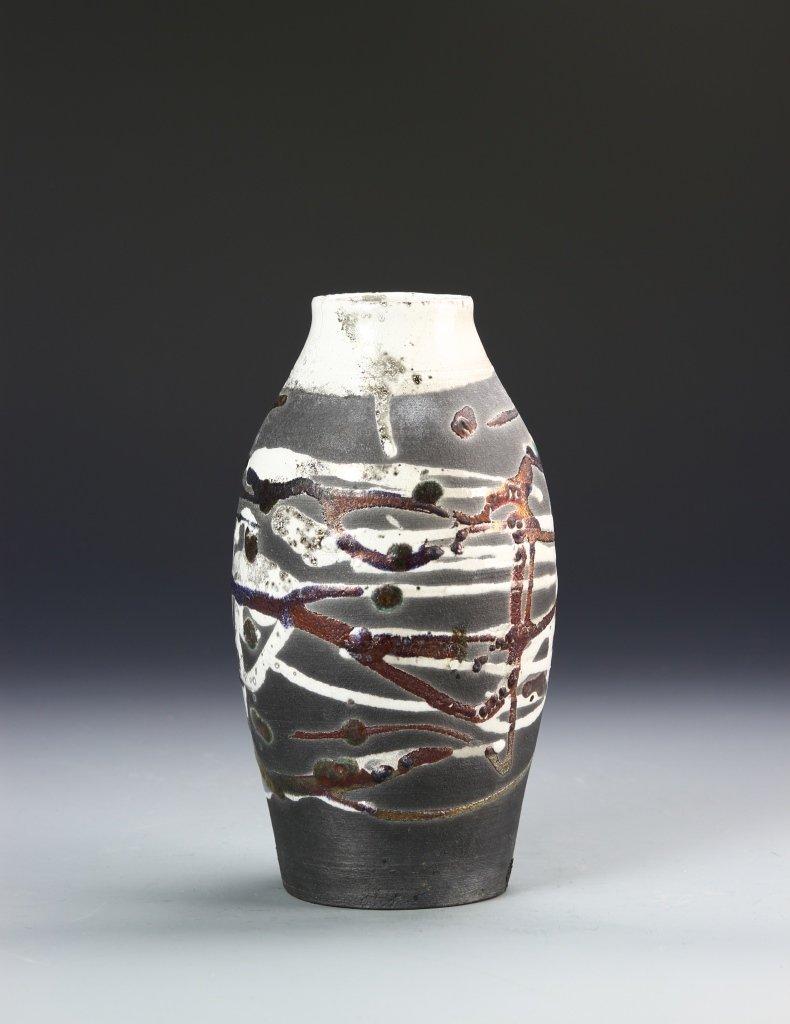 Pottery Vase Signed on Base