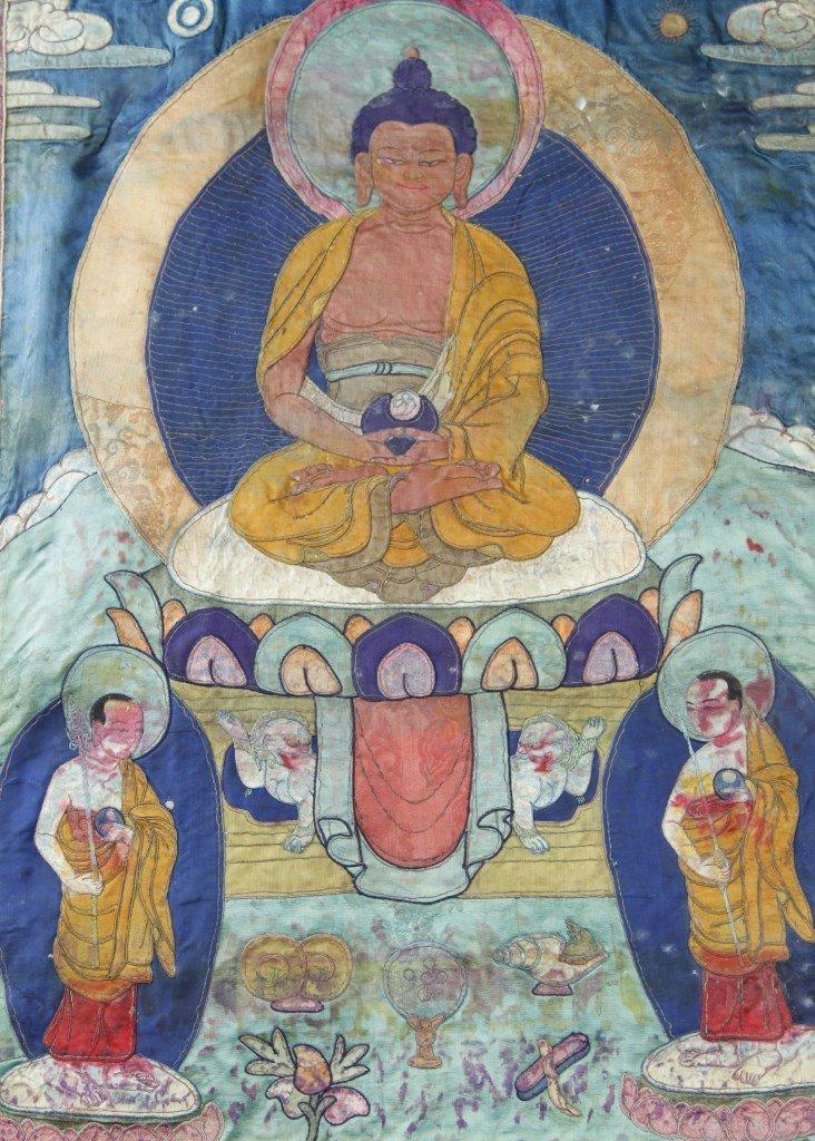 Chinese Tibetan Thangka - 4