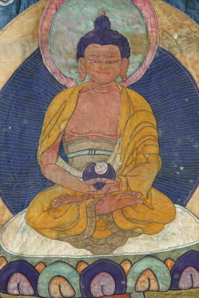 Chinese Tibetan Thangka - 6