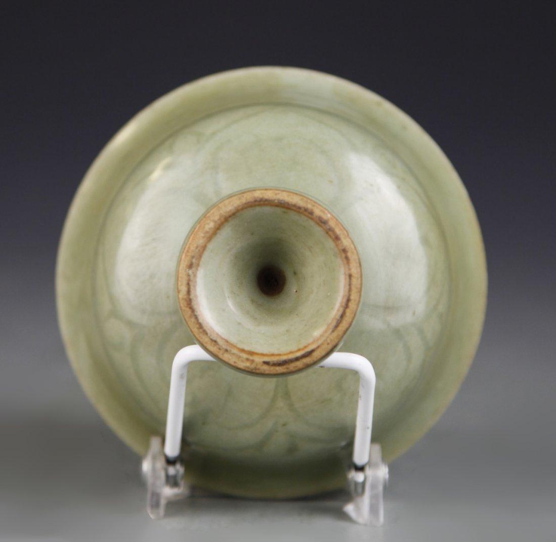 Chinese Lung Quan Yao High Stem  Bowl - 4