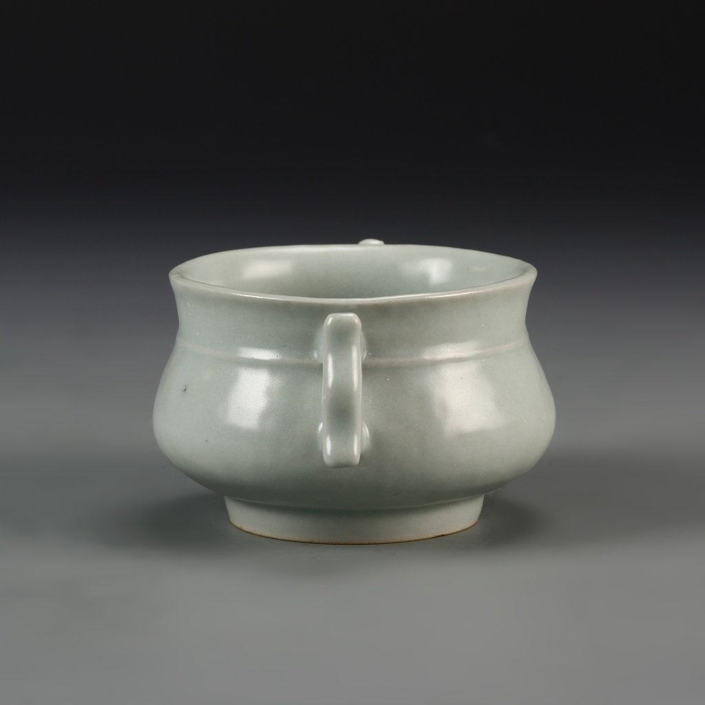 Chinese Antique Lungquan Censer - 2