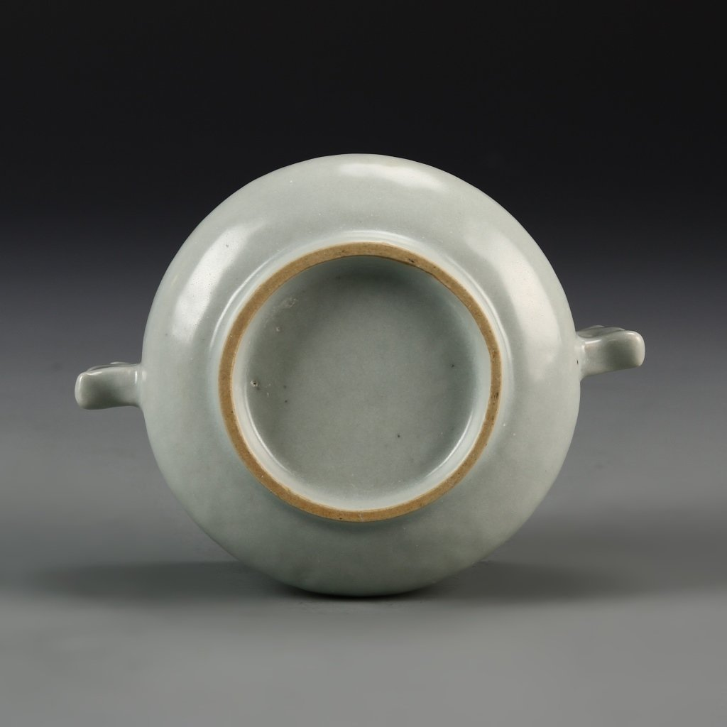 Chinese Antique Lungquan Censer - 4