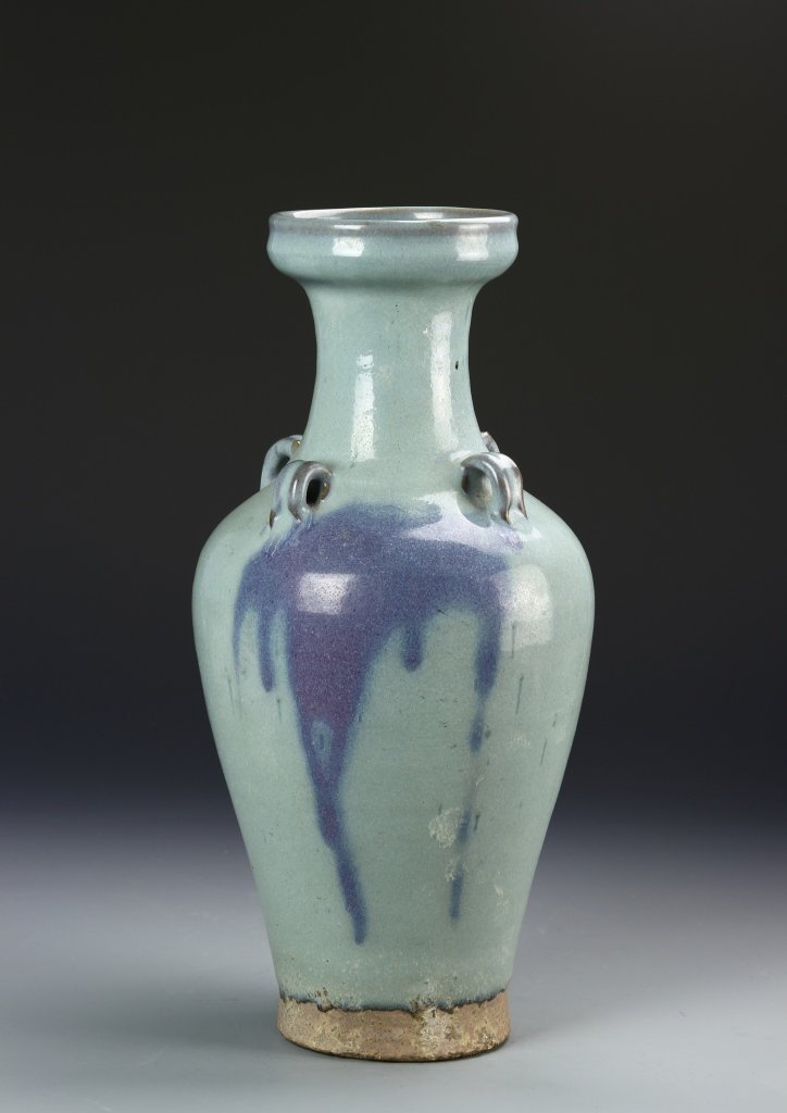 Chinese Jun Yao Vase - 3