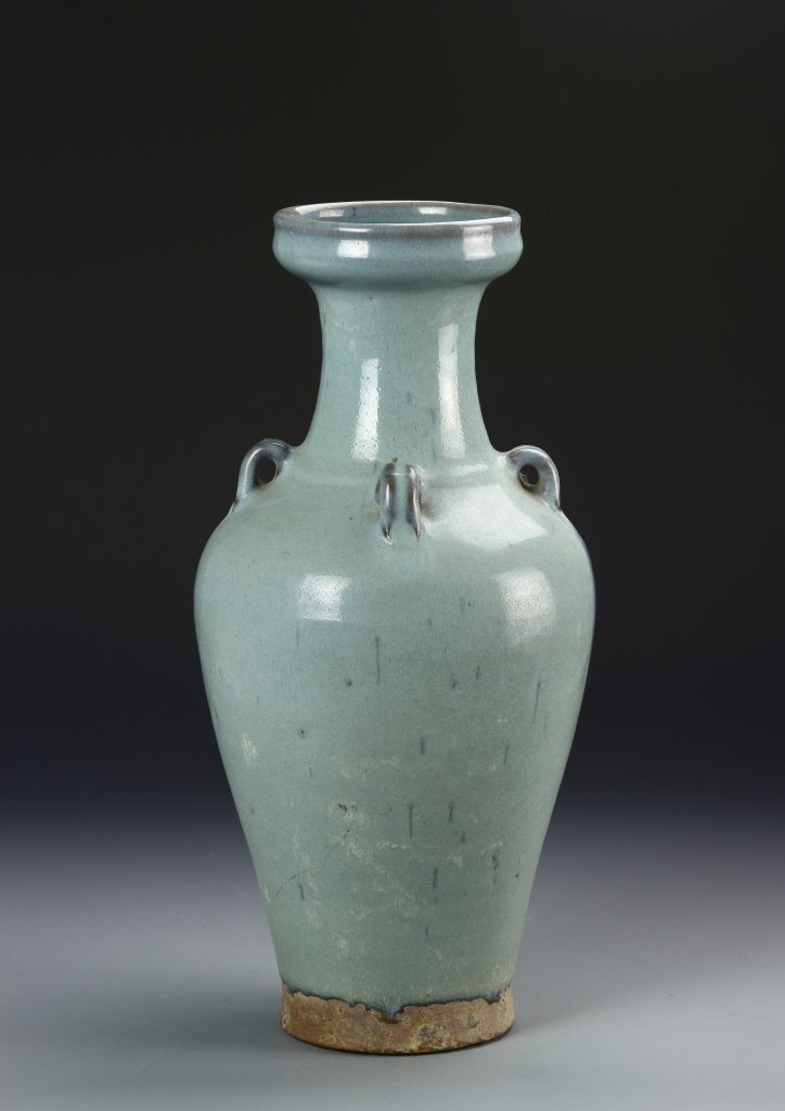 Chinese Jun Yao Vase - 4