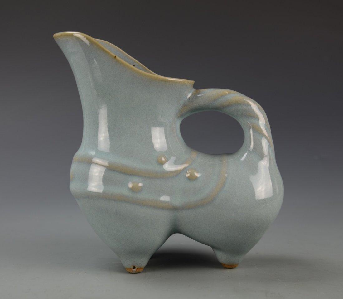 Chinese Lung Quan Yao Ewer - 4