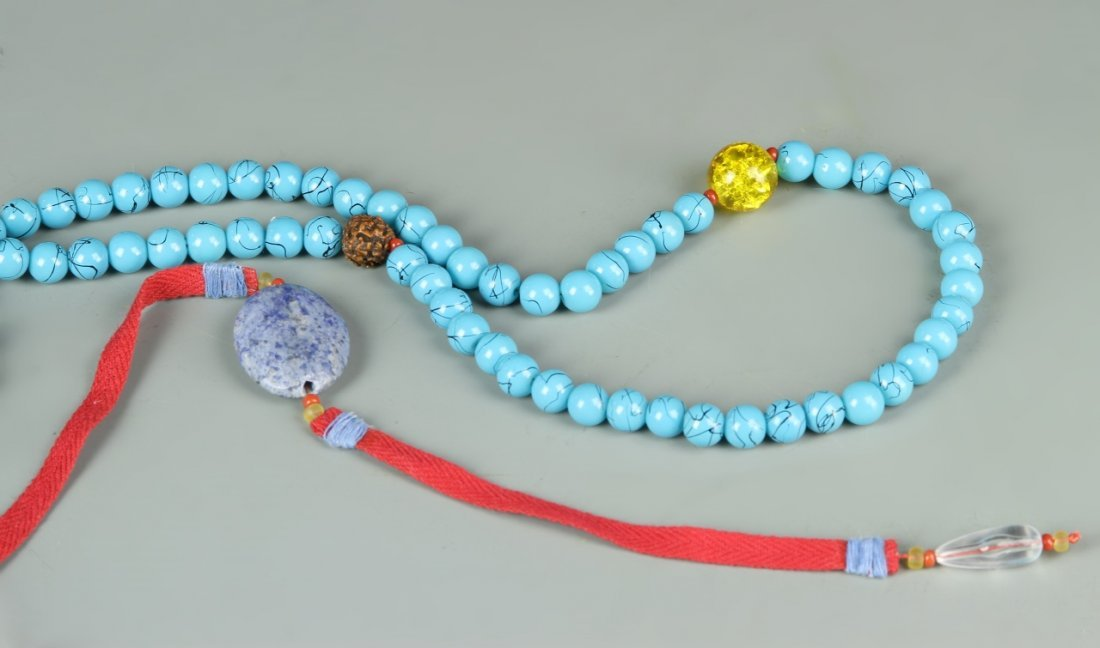 Chinese Turquoise Necklace - 2