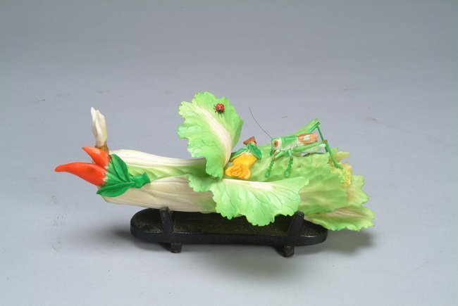 Chinese Ivory Carved cabbage
