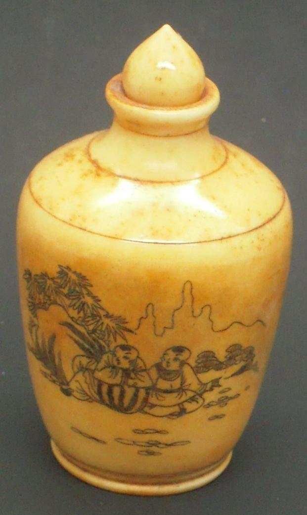 chinese Bone Snuff bottle