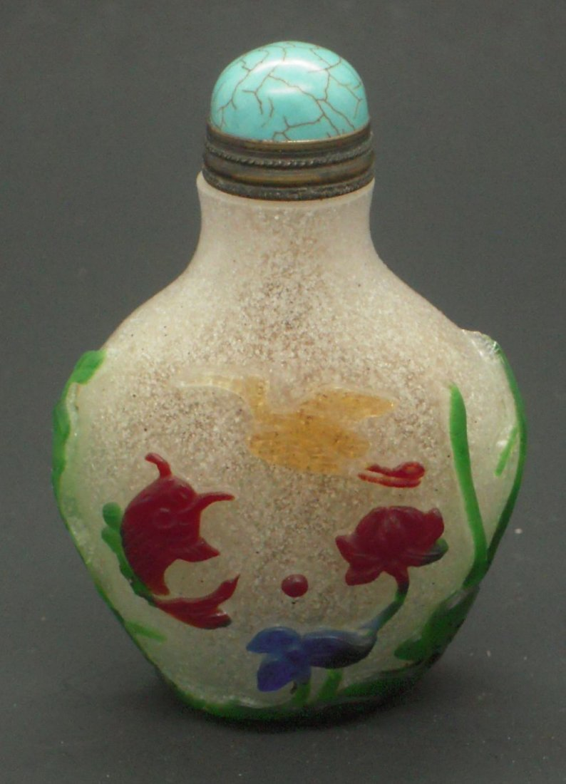 chinese Five olor Beijing Class Snuff bottle
