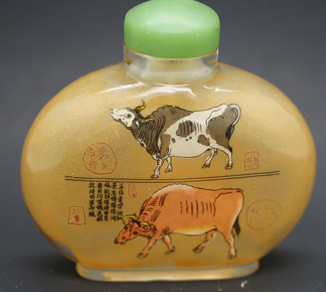 Large chinese beijing class Snuff bottle