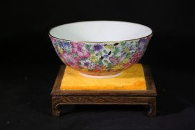 Chinese Old Famille Rose Bowl