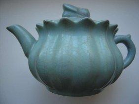 Chinese Celadon Teapot