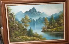 Old Landscape Oil Paintings