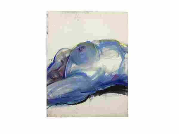 Rolando Rosler Figurative Abstract Drawing