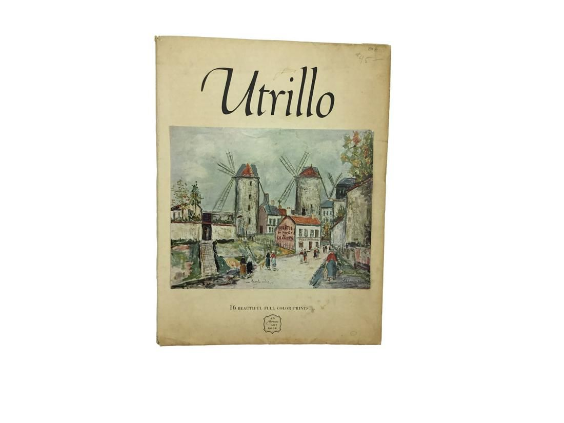 Maurice Utrillo Portfolio of 16 Prints
