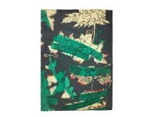 John Little Holly Textile Design 1940-50 Mid Century