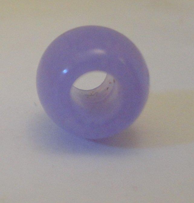 Natural Untreated Lavender Jade Bead