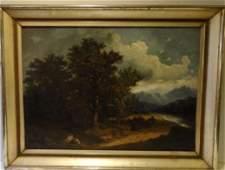 18th-C. European Landscape