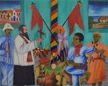 Wilmino Domond (Haitian) Chasing Away Church & Police