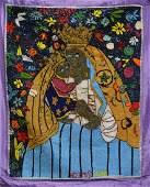 Amina Simeon (Haitian) Baliann (Erzuli), Drapeau/Vodou