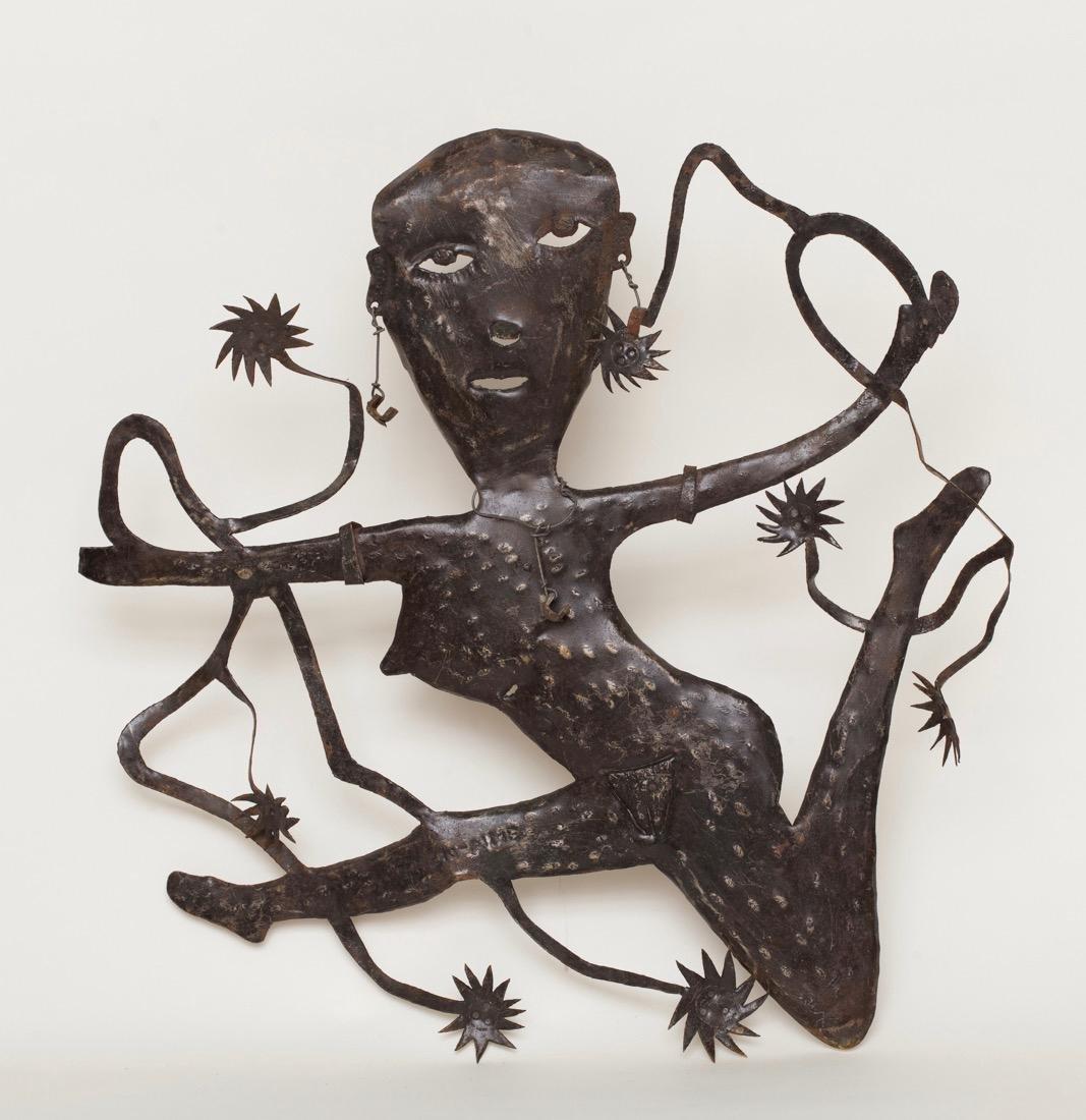 Gabriel Bien-Aime (Haitian) RaRa, Carnival Figure, Folk