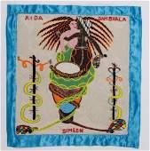 Amina Simeon (Haitian) Aida Dambhala, Drapeau/Vodou
