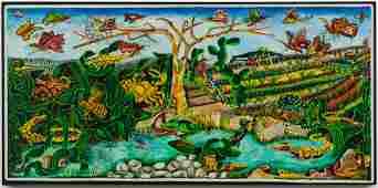 Jacques Hyppolite (Haitian/Haiti) Dreamscape, Surreal