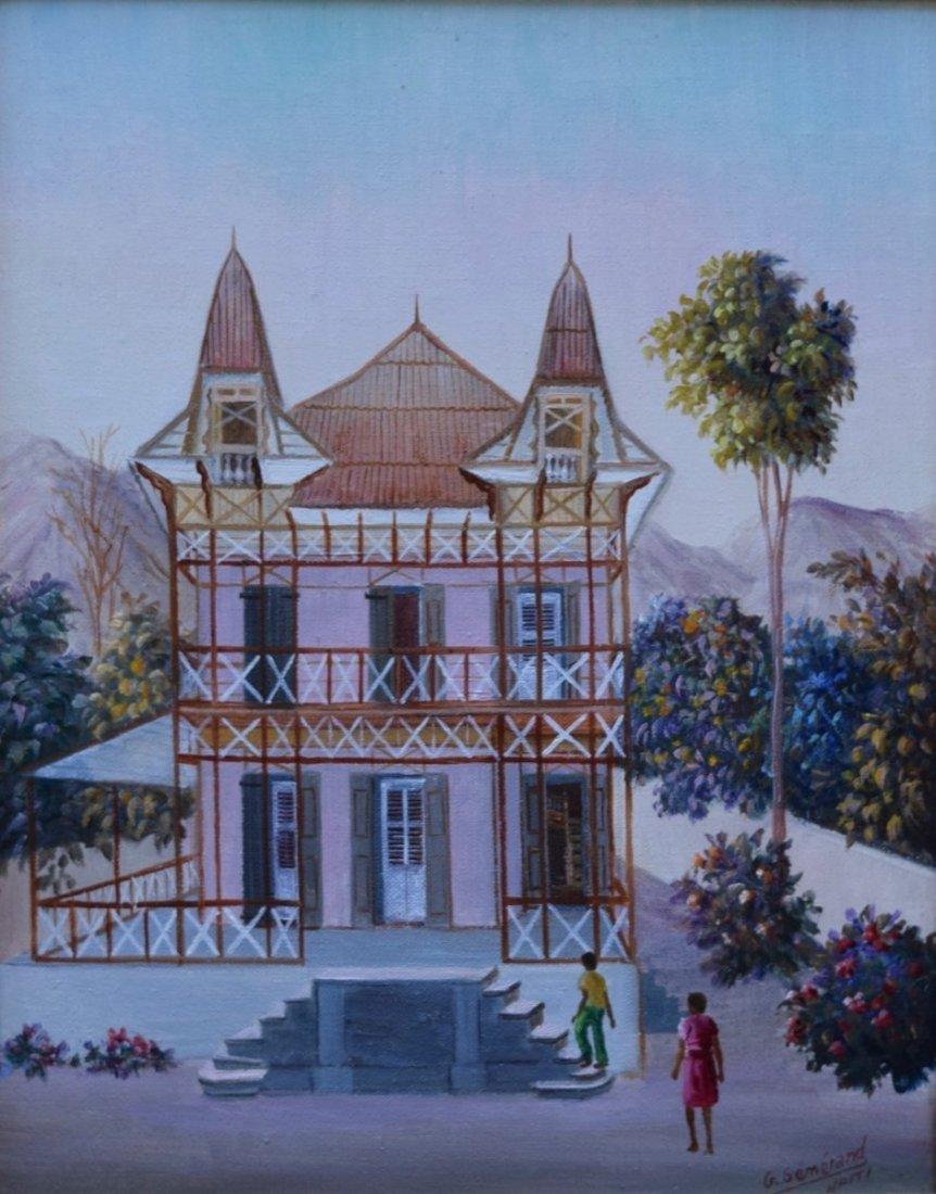 Galland Semerand (Haitian/Cap-Haitien, b,1953)