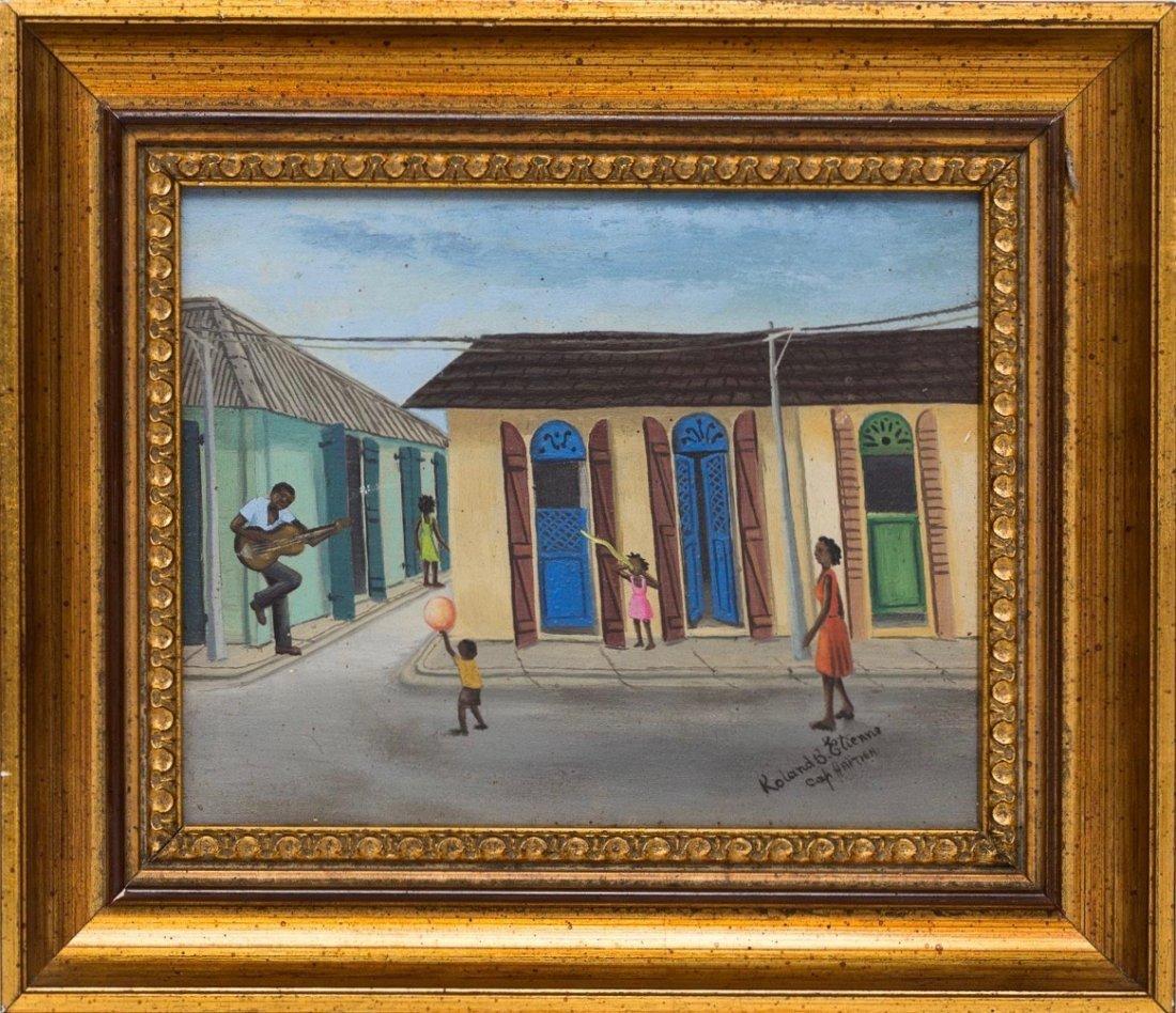 Roland Etienne (Haitian/Cap-Haitien, 20th c.)