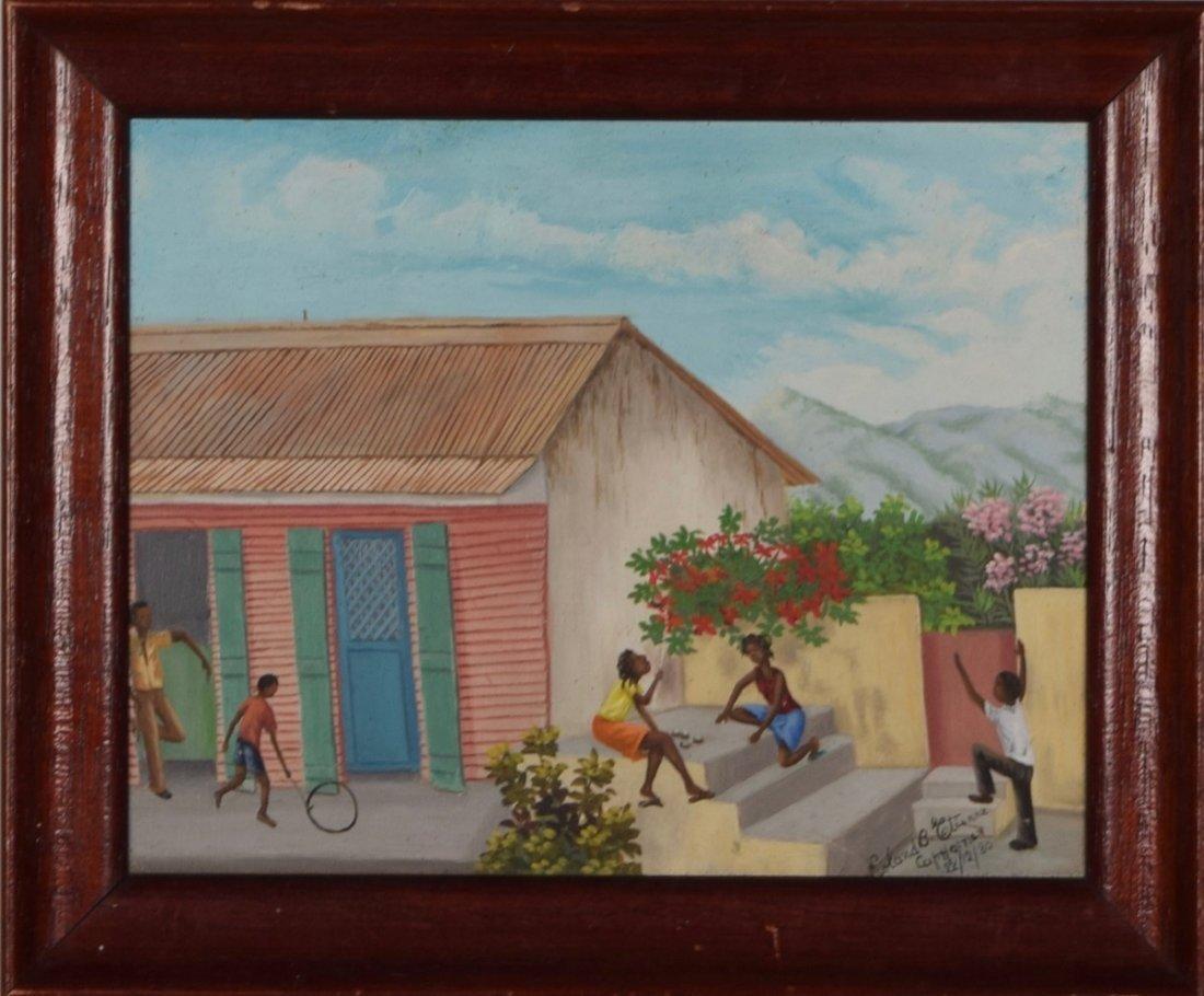 Roland Etienne (Haitian/Cap-Haitien, 20th C.), Father