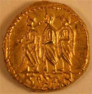 THRACE, Koson (1st. c.BC) GOLD STATER.