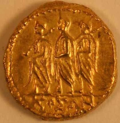 1001: THRACE, Koson (1st. c.BC) GOLD STATER.